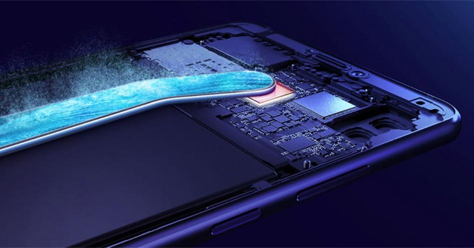 Huawei Mate 20X peut être un tube de refroidissement thermique