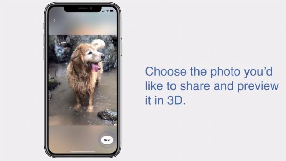 Facebook vous permet maintenant de convertir votre photo ordinaire en images 3D