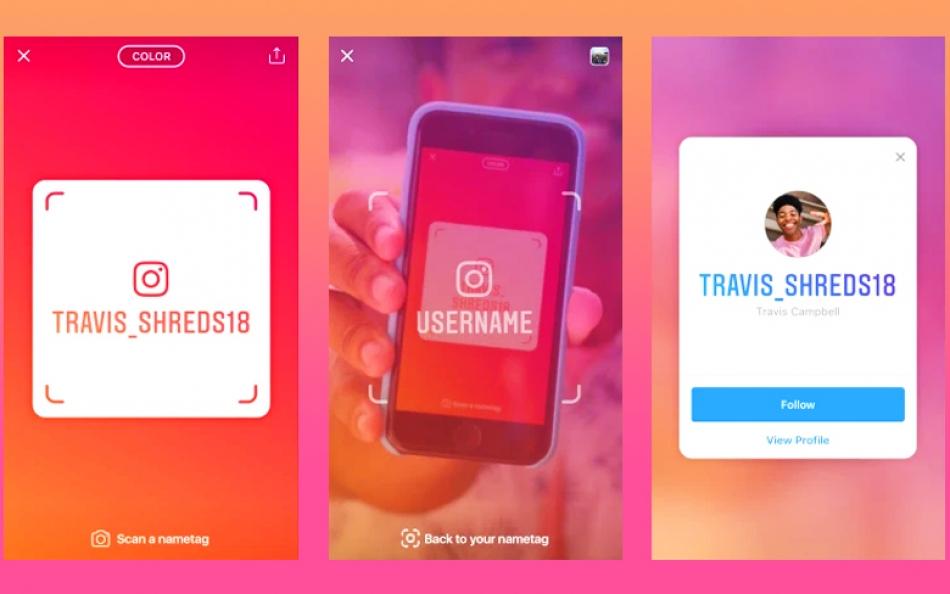 Nametag est un moyen facile d'ajouter des personnes à la vie réelle d'Instagram.