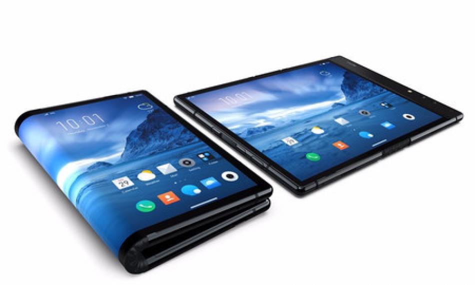 Le téléphone pliable est devenu une réalité, FlexPai est le premier téléphone pliant au monde