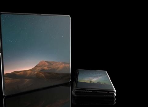 عرض Samsung Galaxy F القابل للطي في فيديو رائع